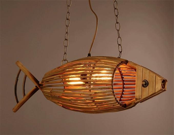 Lampadario In Legno Design : Retro design industriale lampada a sospensione in stile loft sala