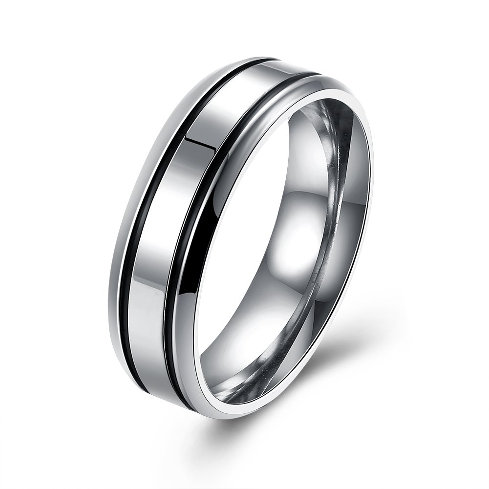 YXYP Impression Anillo de moda Anillo de bodas Joyas para pareja Anillos de pareja Lujoso anillo elegante Anillo clá sico romance Anillos SPR065