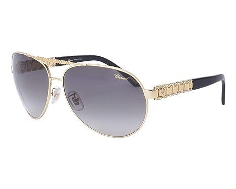 89c2706055f Amazon.com  Chopard sunglasses (SCH-A-63-S H16F) Gold - Black - Blue ...