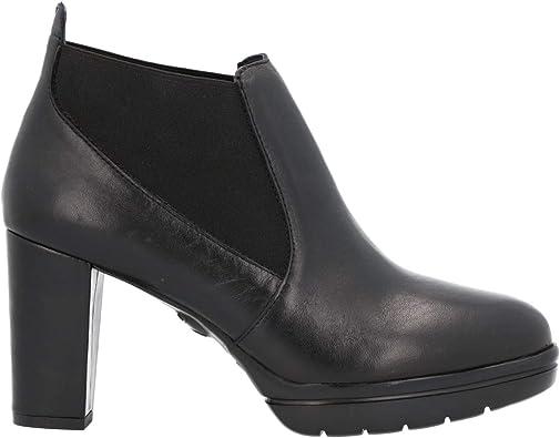 CALLAGHAN 23705 Botines Mujer Piel Tacon Negro: Amazon.es: Zapatos ...