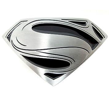 4c7cec28d660 Boucle de ceinture en m eacute tal de style vintage - Marvel Hero Superman