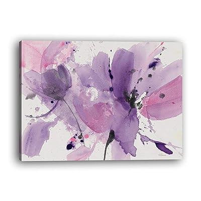 bienddyicho 213 PH-284 Impresiones de la Lona Pintura Home Room Decor Picture Wall Art Poster Combinación Poster Tinta Púrpura para Lechao -Blanco: Juguetes y juegos