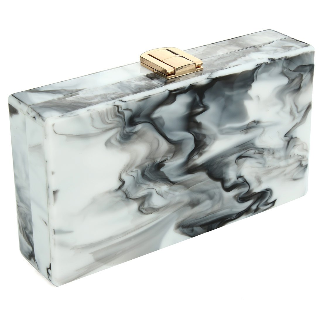 Image result for An acrylic marble clutch
