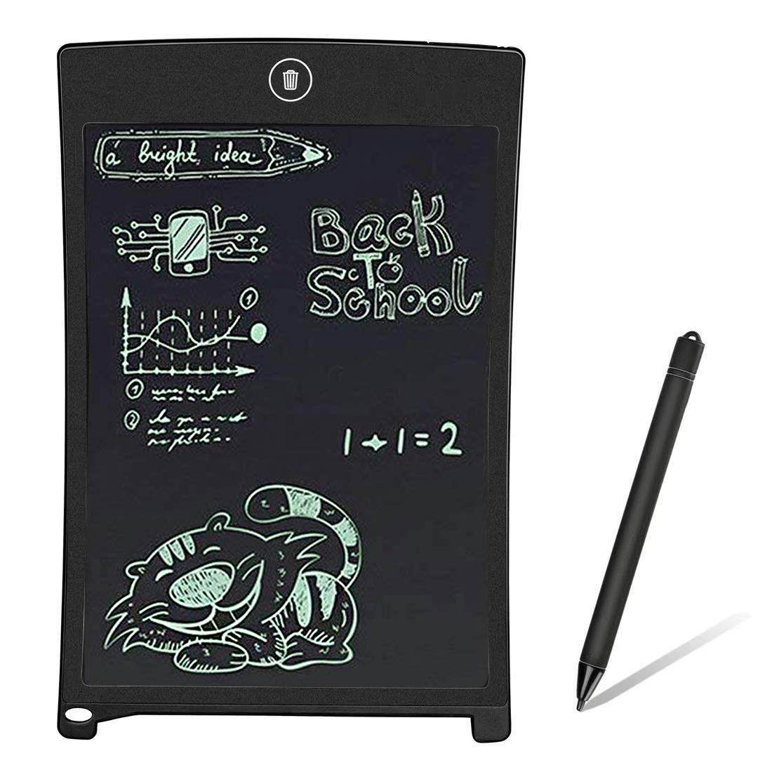 BONBON LCD Writing Tablet Electronics Writing Pad Doodle Board Handwriting Drawing Pad Gift for Kids Adults at Home,School and Office-Black