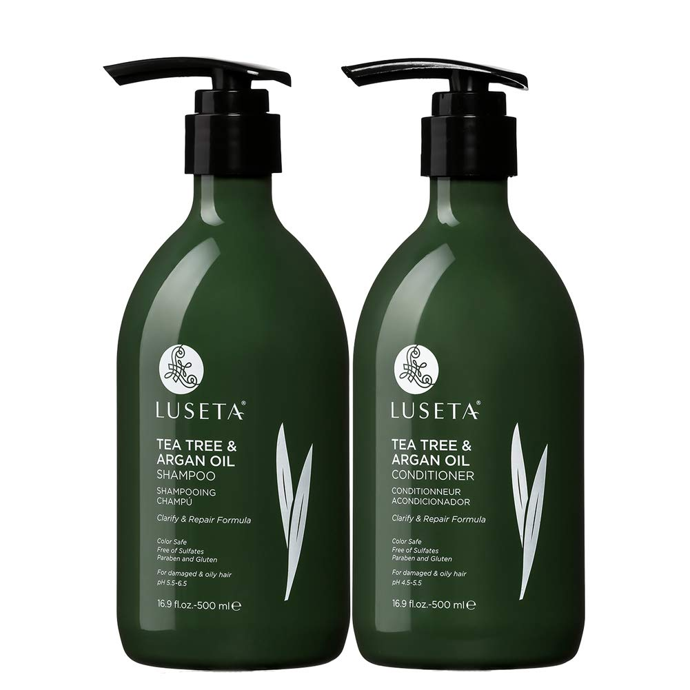 Luseta Tea Tree & Argan Oil Shampoo