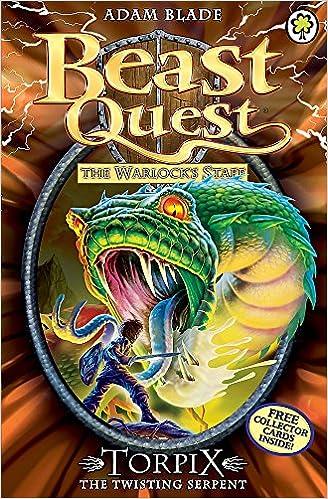 Torpix The Twisting Serpent Series 9 Book 6 Beast Quest Band 54 Amazon De Blade Adam Bucher