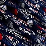 Traditions NFL Cotton Broadcloth New England