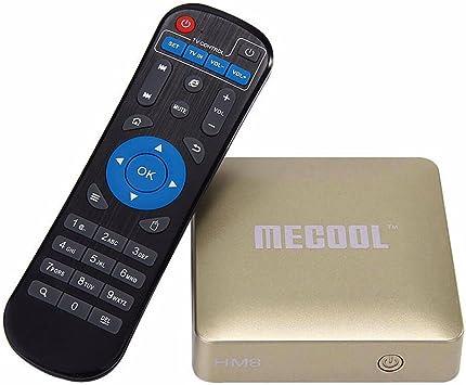 Android 6 Smart TV Micro PC WiFi 3d 4 K UltraHD HDMI 2.0 USB LAN KODI Play Store: Amazon.es: Electrónica