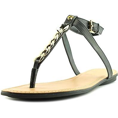 Guess Gurri Women US 9 Black Slingback Sandal