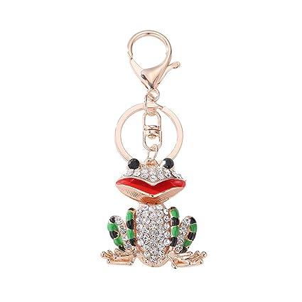Yibenwanligod - Llavero con incrustaciones de diamantes de ...