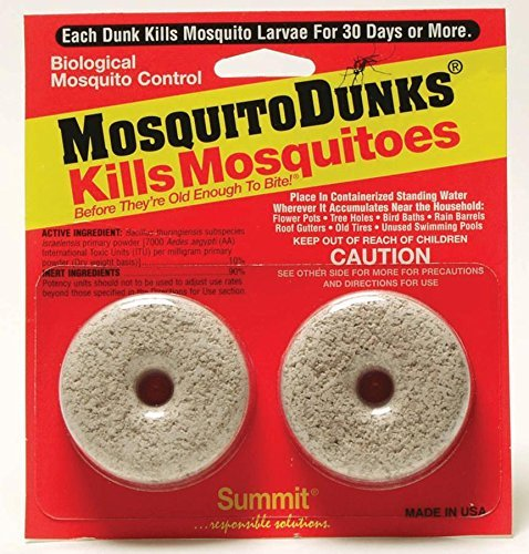 Summit...responsible solutions Mosquito Dunks 102-12 Mosquito Killer, 12 Pieces ()