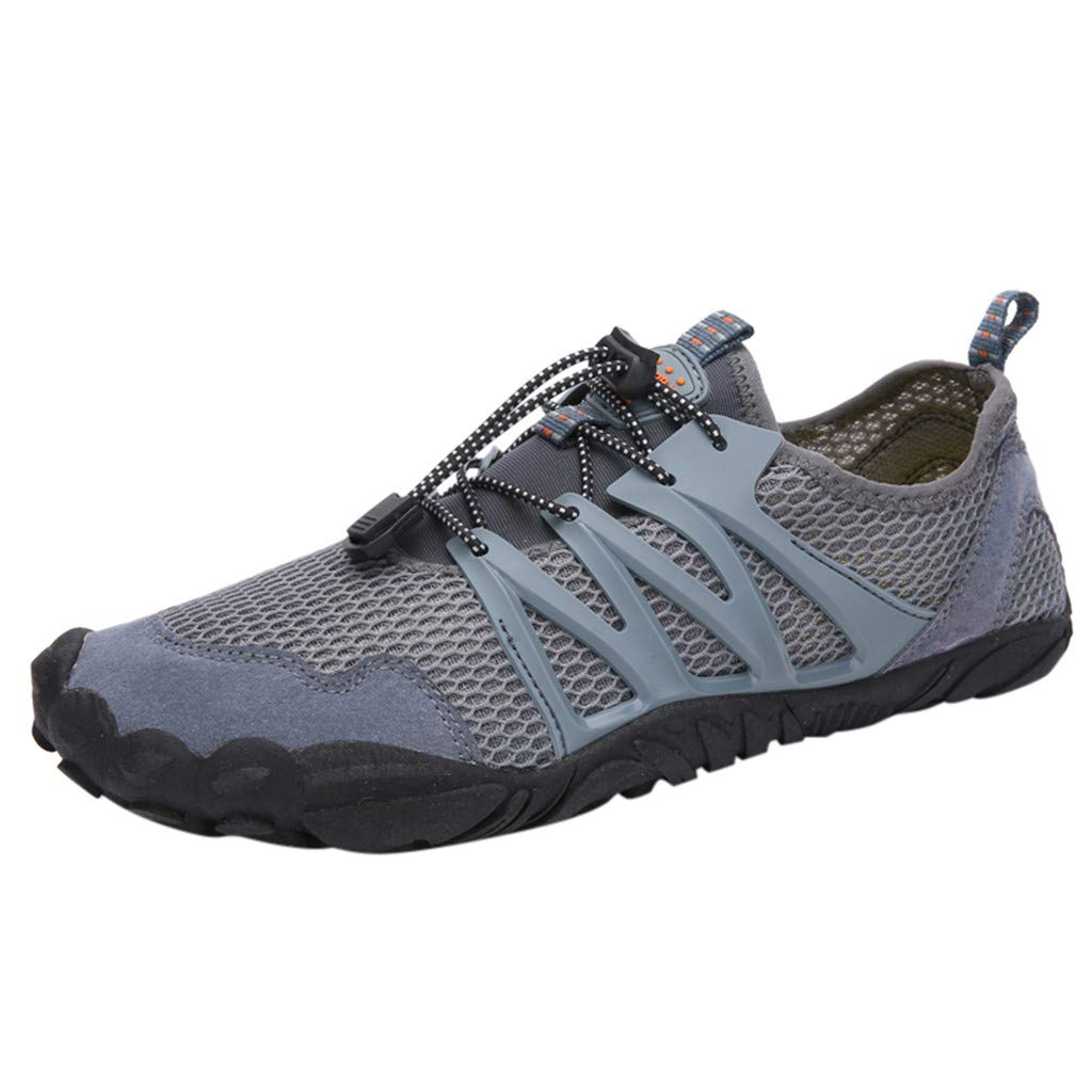 Swimming Shoes, Fashion Couple Models Breathable Shoes Wading Shoes Outdoor Sports Shoes Casual Running Sneakers lkoezi