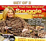 Snuggie Leopard Print with Booklight (Set of 2)