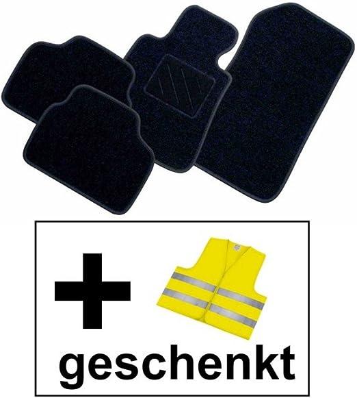 Rau Passform Fussmatte Free Schwarz Inkl Warnweste Gelb Fahrzeug Siehe Text Auto