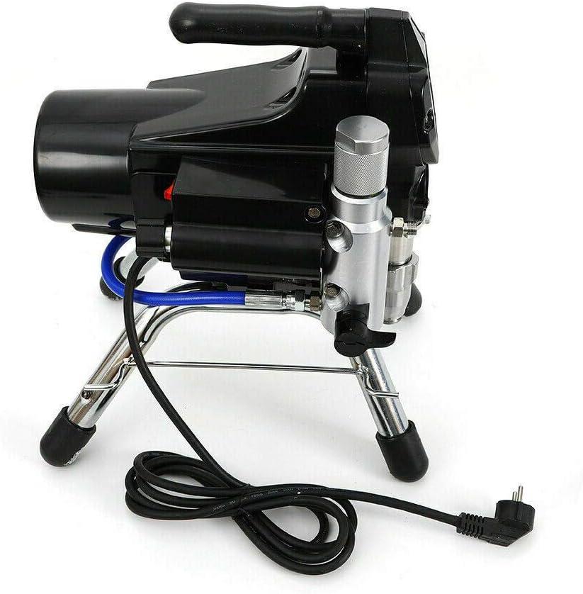 Pulverizador de pintura airless 3000 PSI -Pulverizador de Pintura sin Aire de Alta Presión Máquina de para la aplicación de pinturas, lacas y barnices