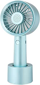 JAKAGO Mini Handheld USB Fan, Desktop Fan with Removable Aroma Diffuser, Portable Personal Fan for Dorm Office Outdoor Traveling Camping Music Festival Makeup Eyelash Fan for Women Girls Kids