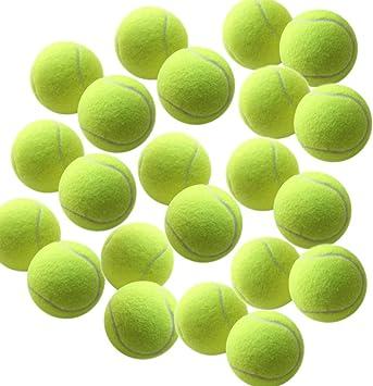 swity casa 12 Pack pelotas de tenis, pelotas de formación para las ...