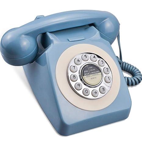 Amazon.com: IRISVO - Teléfono móvil con cable y diseño retro ...