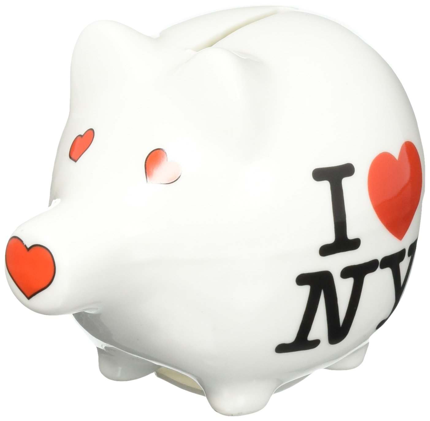 amazon com i love ny piggy bank ceramic new york city souvenir