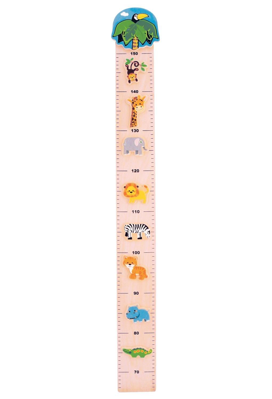 Bieco 74092171Toise zoo, Env. 97x 12x 1,5cm Siva Toys74092171