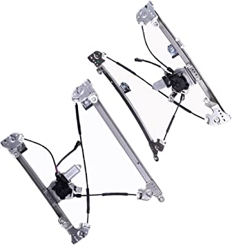 2006-2008 Lincoln Mark LT Power Window Lift Regulator on Front Right Passengers Side with Motor Assembly Replacement for 2004-2008 Ford F-150 Lobo Mexico