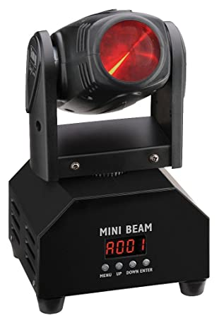 img stage line beam  IMG STAGE LINE BEAM-40/RGBW DJ LIGHT MOVING HEAD LED: Amazon. ...