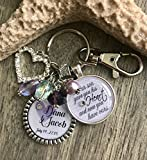 Daugher in law wedding gift ~ Our son gave you his heart and now you have ours ~ Wedding quote jewelry