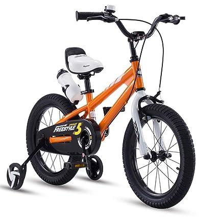 Bambino Biciclette Con Rotelle E Contropedale Bici Acciaio Al