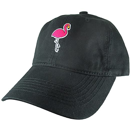 4ce9dc022a8 Image Unavailable. Image not available for. Color  AffinityAddOns Flamingo  Dad Hat ...
