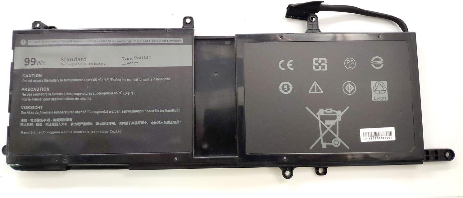 Ding New GJKNX Battery Compatible with Dell Precision 15 3520Latitude E5480 Latitude E5580 Latitude E5490 Latitude E5590 DELL Precision 15 3520(7.6V)