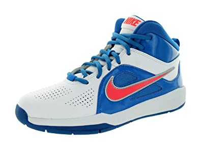 outlet store a15db ceef3 Nike Schuhe Kinder Jungen Teamsport hustle d 6 (gs) Whitelaser crimson-