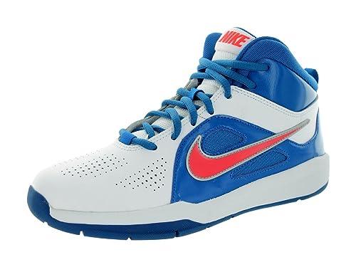 Nike Team Hustle D 6 (GS), Zapatillas de Baloncesto Unisex Niños, Bianco