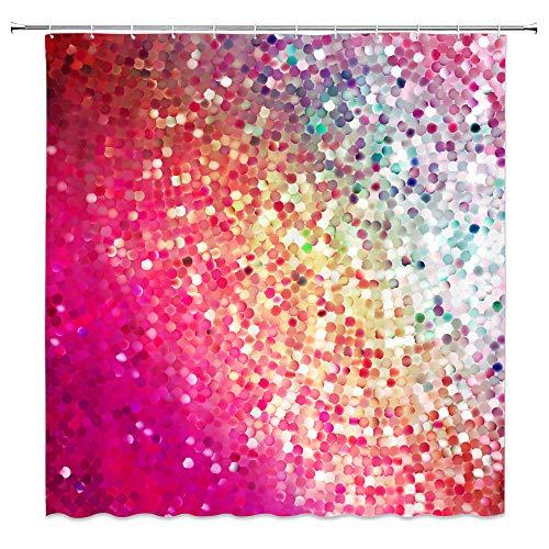 rainbow fish shower curtain - 3
