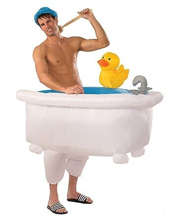 Badewanne Kostüm horror shop aufblasbares badewannen kostüm für den faschingsball