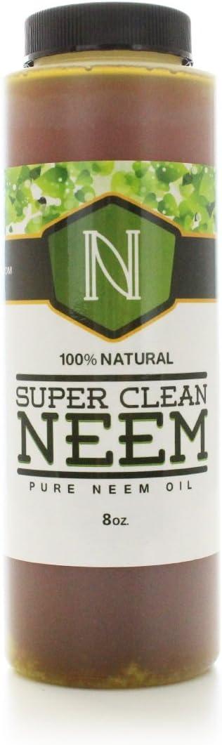 Super Clean Neem Oil 8 oz. Garden Foliar Concentrate