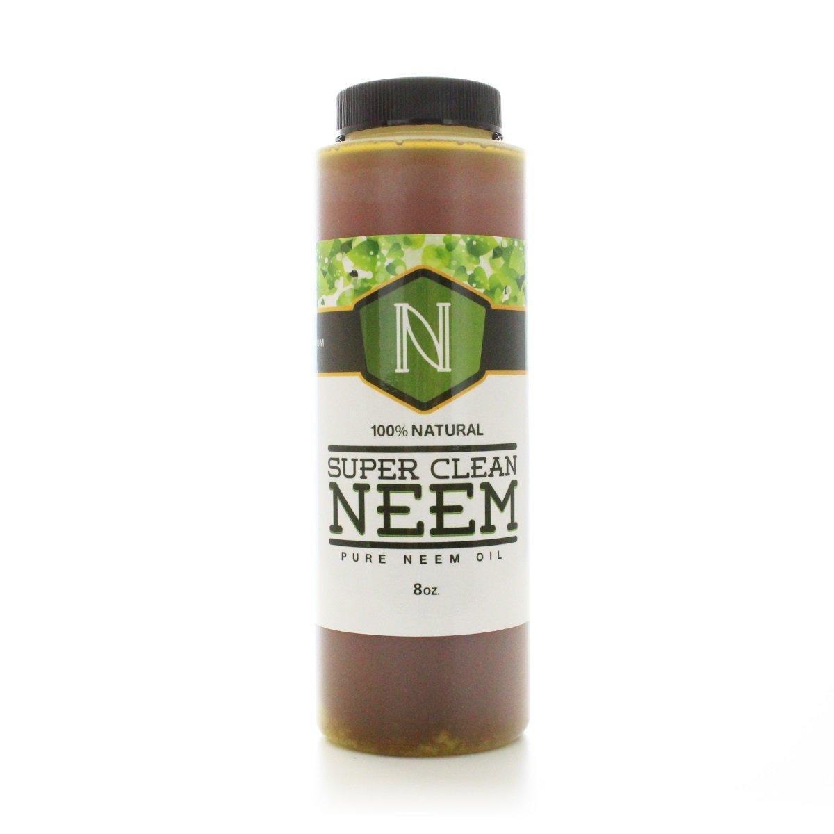 Amazon Super Clean Neem Oil 8 Oz Garden Foliar Concentrate