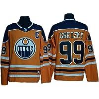Jersey de Hockey Gretzky # 99 Edmonton Oilers
