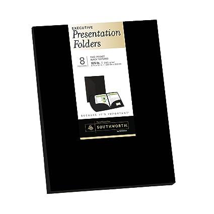 Amazoncom Southworth Resume Presentation Folders 9 x 12 105