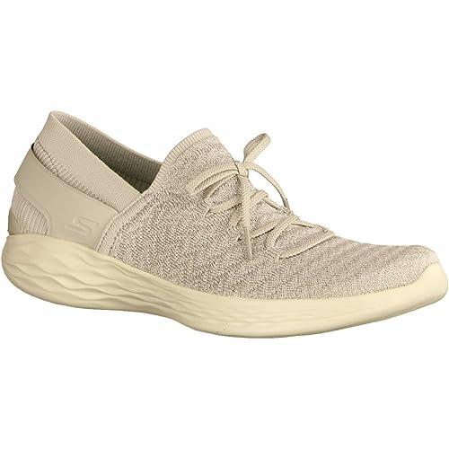 Skechers Mocasines Para Mujer Gris Gris, Color Gris, Talla 42 EU: Amazon.es: Zapatos y complementos