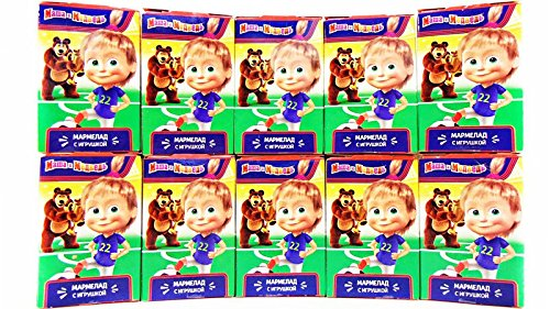 OPTOVICHOK Set of 10 SWEETBOX jelly beans with vitamin C, 3D