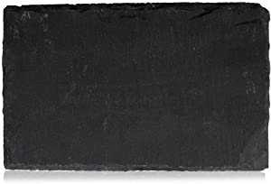 Boska Holland Slate Dessert Cheese Boards, Set of 4, Hand Cut Edge, 6.5 Inches x 4 Inches, Also For Appetizers, Pro Collection