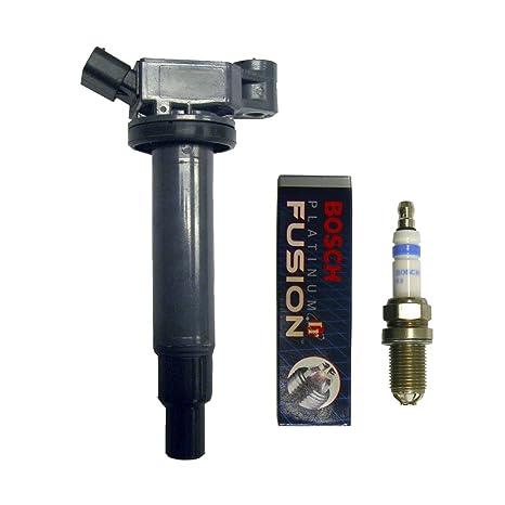 Juego de 1 AD AUTO PARTS Ignition Coil B149 + 1 Bosch Bujía Para Lexus &