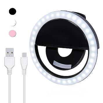 Handy Beleuchtung | Prochive Selfie Licht Fur Das Handy Rundes Led Ringlicht Fur