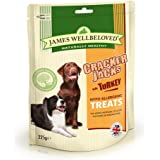 James Wellbeloved Crackerjacks Dog Treats Turkey 225 g