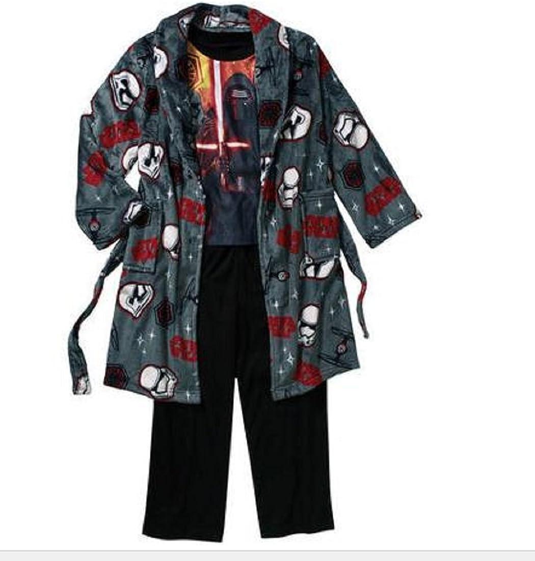 Star Wars Boys Darth Vader Stormtropper Plush Robe