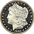 1885 P Morgan Dollars (Proof) Dollar PR67 PCGS\CAC CAM