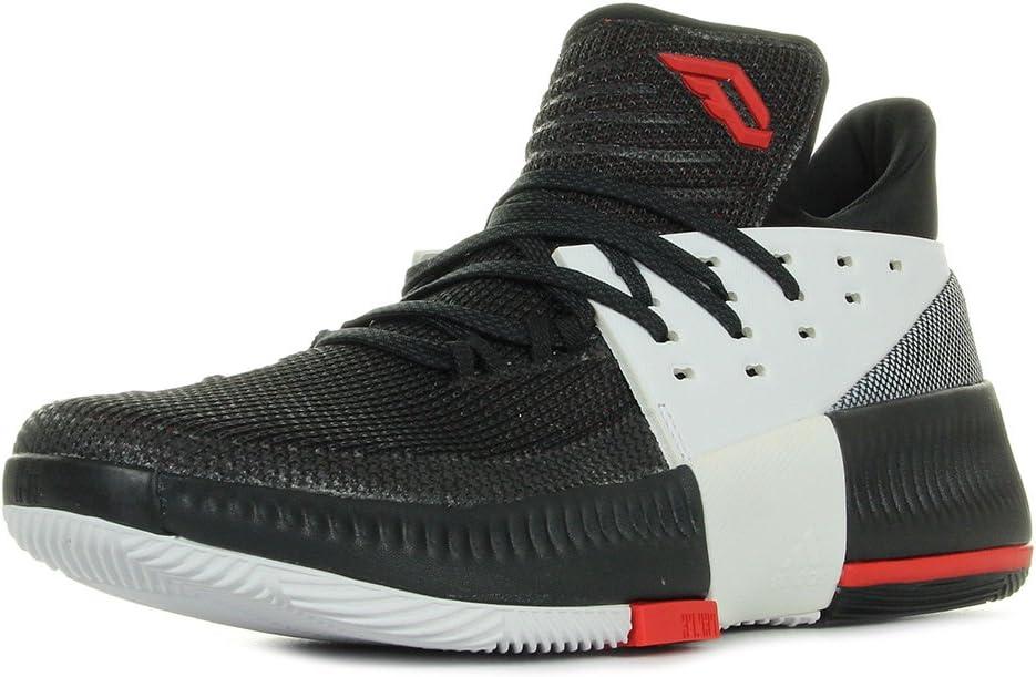 adidas D Lillard 3 Chaussures de Basketball Homme: