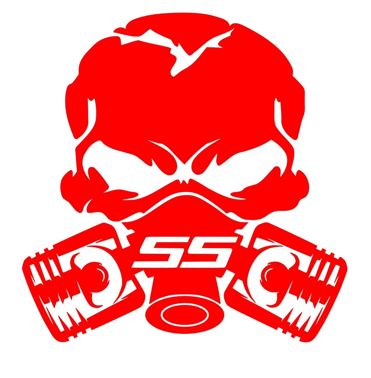 Ss Skull Sticker