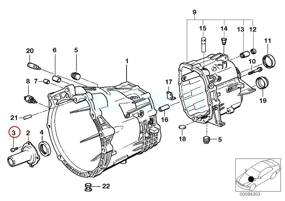 Bmw Genuine Torx Screw Manual Transmission Assemblies