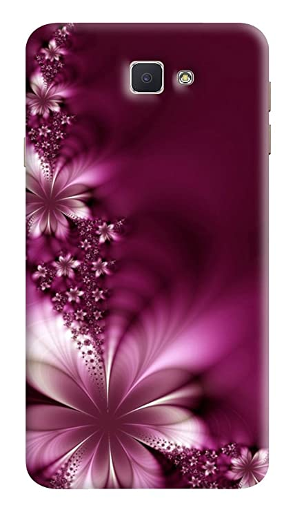 new concept 8f249 8785e RKMOBILES Designer Printed Back Cover for Samsung Galaxy J5 Prime (Purple)